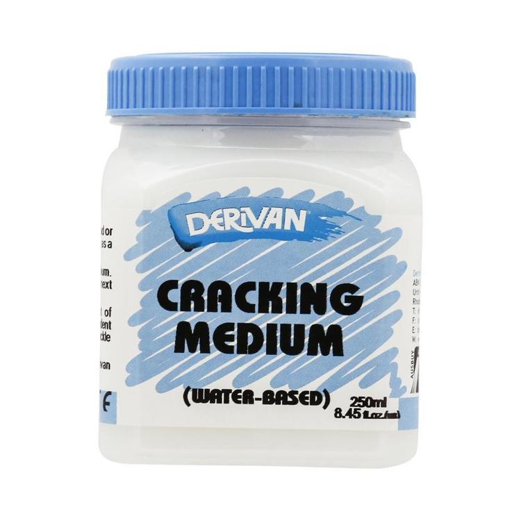 Derivan Cracking Medium Clear 250 mL