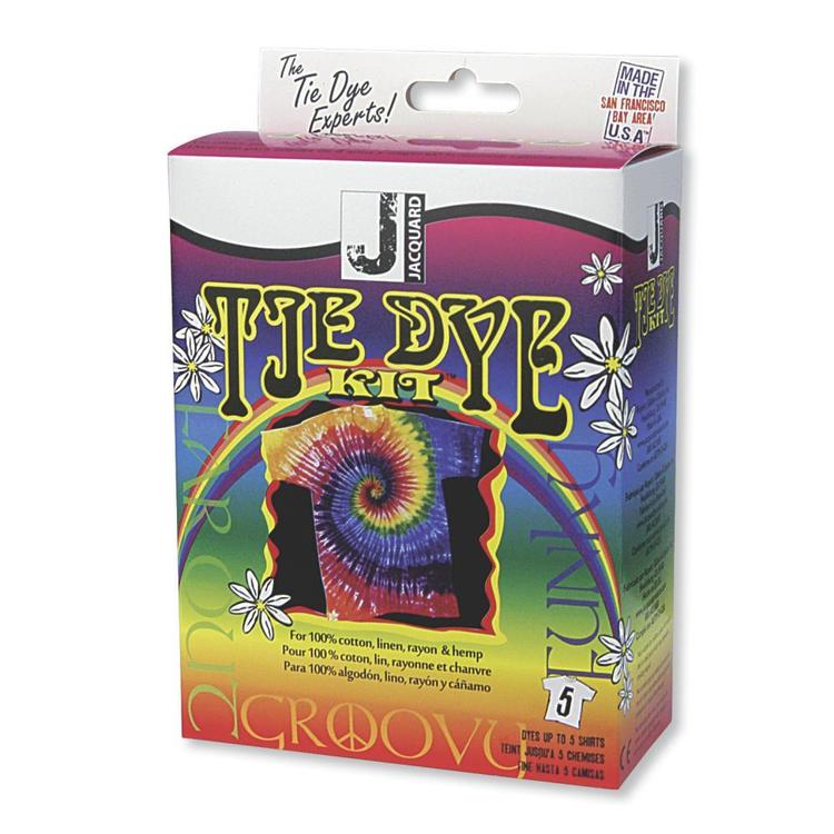 Jacquard Products Jacquard Funky Groovy Tie Dye Kit