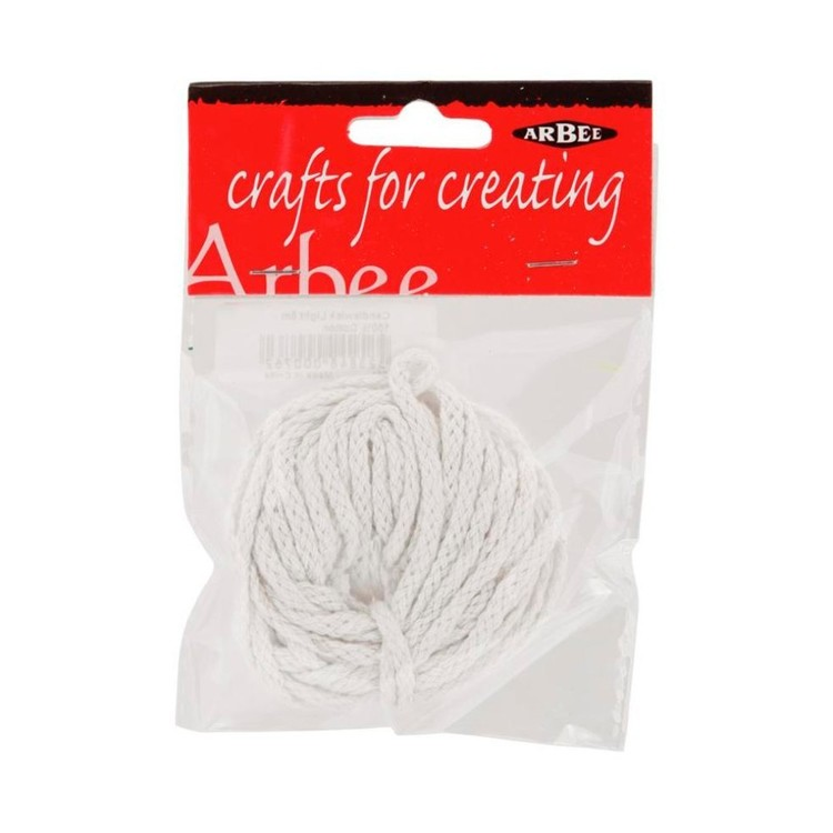 Arbee Light Weight Candle Wick