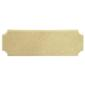 Kaisercraft Long French Plaque Natural 297 x 98 mm