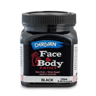 Derivan Face & Body Paint 250 mL
