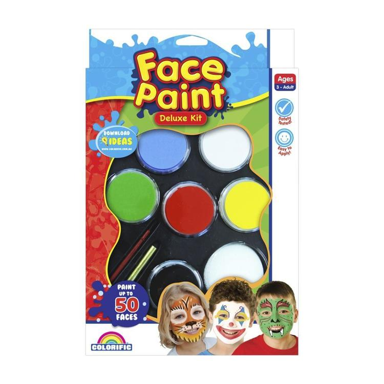 Colorific Face Paint Deluxe Kit