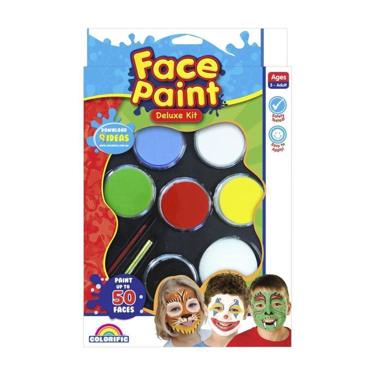 Colorific Face Paint Deluxe Kit