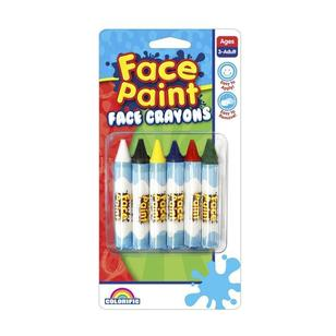 Colorific Face Crayons