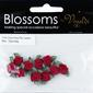 Vivaldi Blossoms Grub Roses With Ribbon Leaves