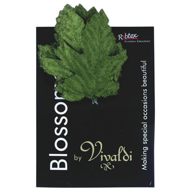 Vivaldi Blossoms Velvet Oak Leaves