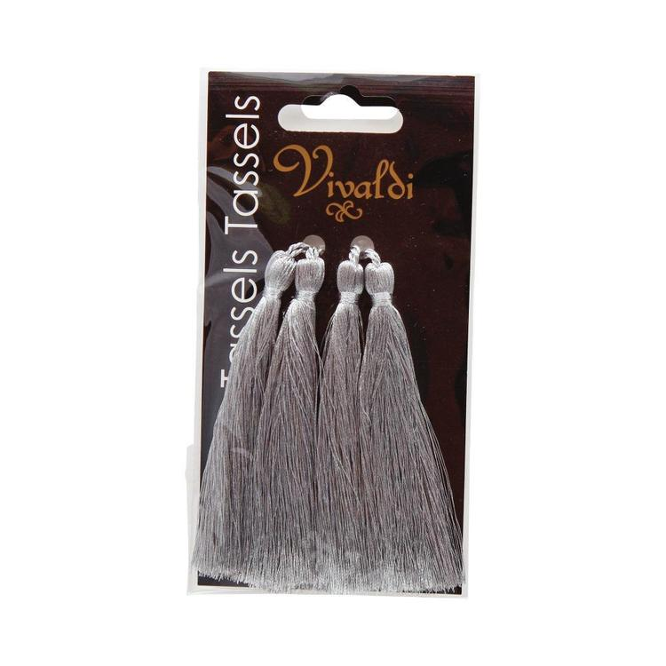 Ribtex Long Metallic Tassel