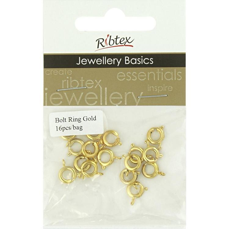 Ribtex Jewellery Basics Bolt Ring
