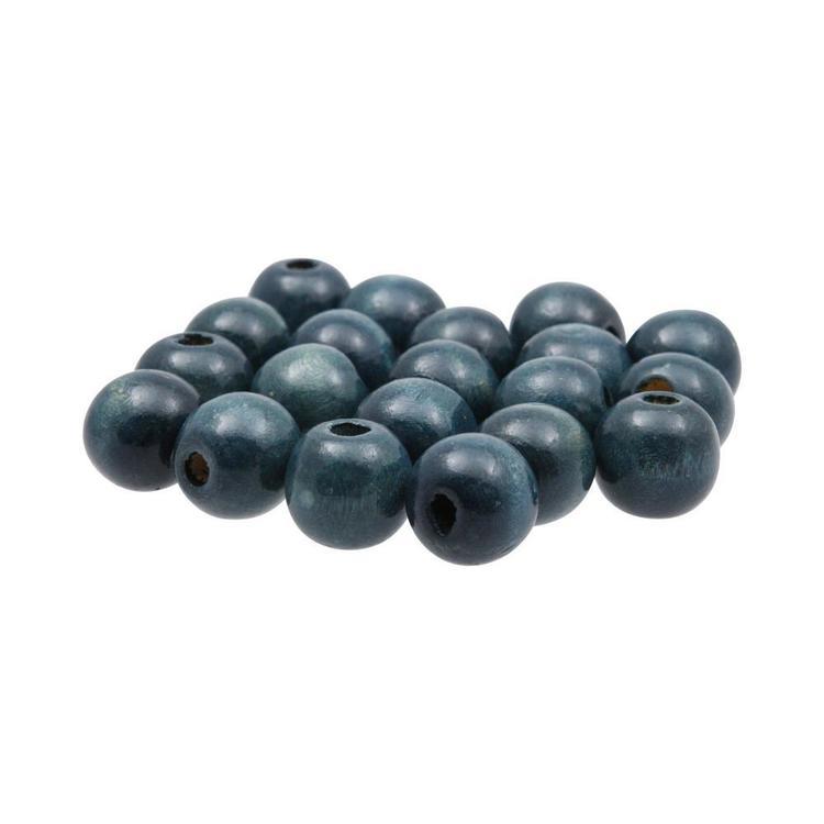 Arbee Round Wood Beads 20 Pack