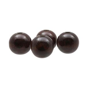 Arbee Round Wood Beads 4 Pack