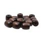 Arbee Barrel Wood Beads 15 Pack