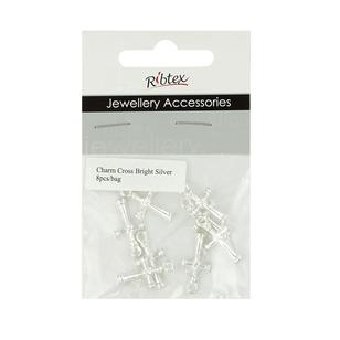 Ribtex Jewellery Accessories Cross Charm