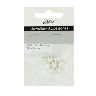 Ribtex Jewellery Accessories Filigree Ball Spacer