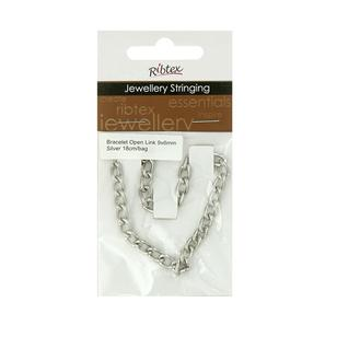 Ribtex Jewellery Stringing Open Link Bracelet