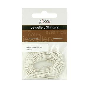 Ribtex Jewellery Stringing Twine Thread