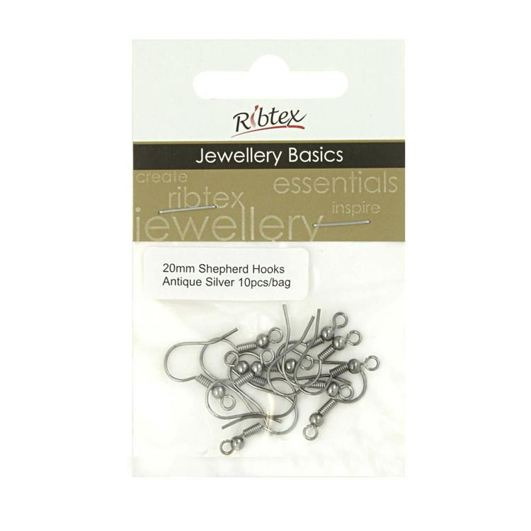 Ribtex Jewellery Basics Shepherd Earring Hooks