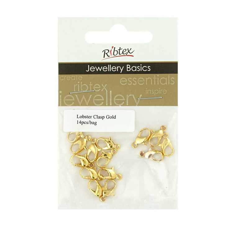 Ribtex Jewellery Basics Lobster Clasp 14 Pack