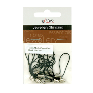 Ribtex Jewellery Stringing Mobile Phone Charm Cord