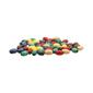 Arbee Oval Wood Beads 50 Pack