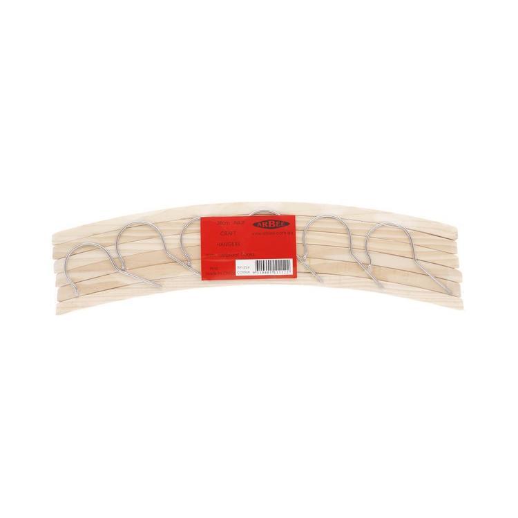 Arbee Coat Hangers 6 Pack