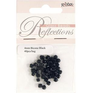 Ribtex Reflections Crystal Glass Beads