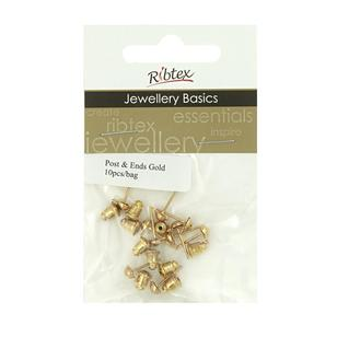 Ribtex Jewellery Basics Earring Posts & Ends
