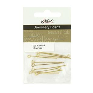 Ribtex Jewellery Basics Eye Pins
