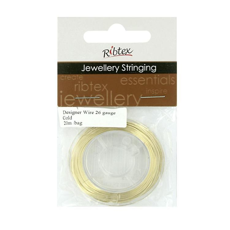 Ribtex Jewellery Stringing 20 M Designer Wire