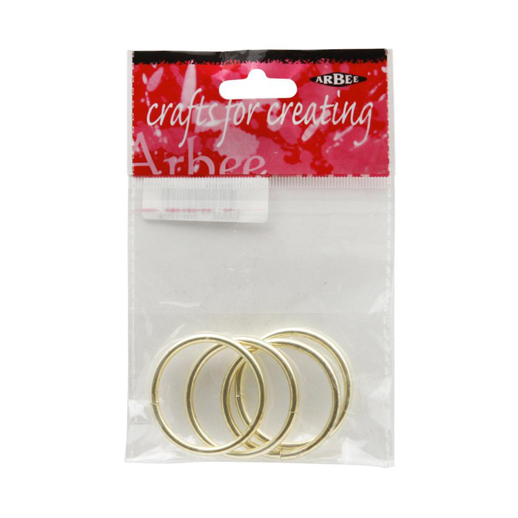 Arbee Metal Rings 4 Pack