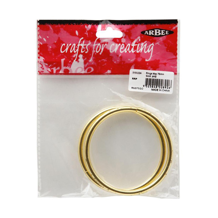 Arbee Metal Rings 2 Pack