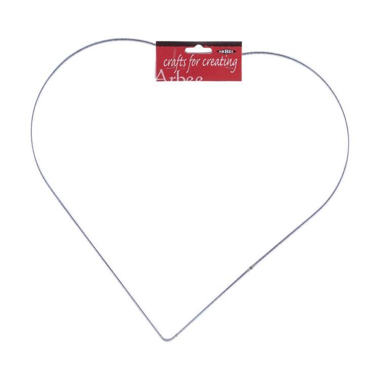 Arbee Galvanised Wire Heart
