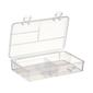 Birch Floss Box Organiser 4Compartments Clear Small