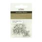 Ribtex Jewellery Basics Circle Toggles Silver