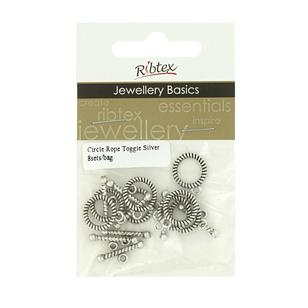 Ribtex Jewellery Basics Circle Rope Toggles