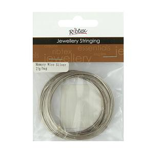 Ribtex Jewellery Stringing Memory Wire