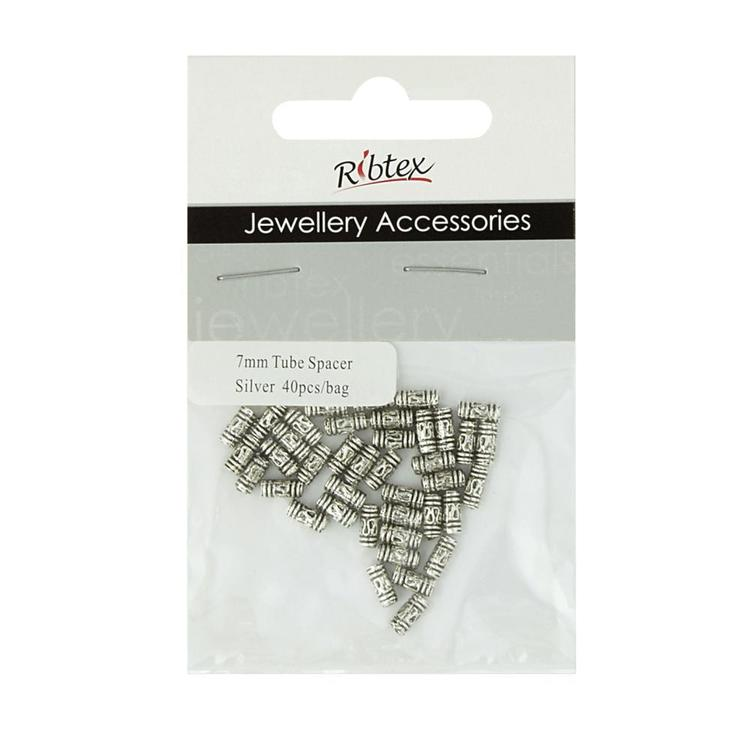 Ribtex Jewellery Accessories Tube Spacers Gold & Silver