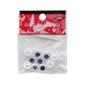 Arbee Sew On Joggle Eyes 10 Pack Black 10 mm