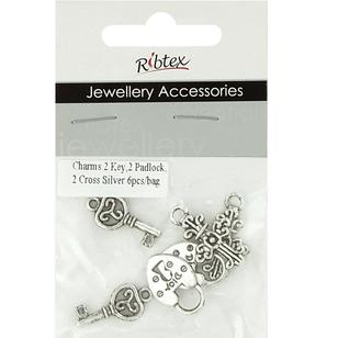 Ribtex Jewellery Accessories Keys, Crosses & Padlocks