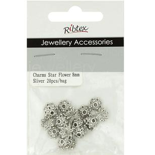 Ribtex Jewellery Accessories Star Flower Bead Cap