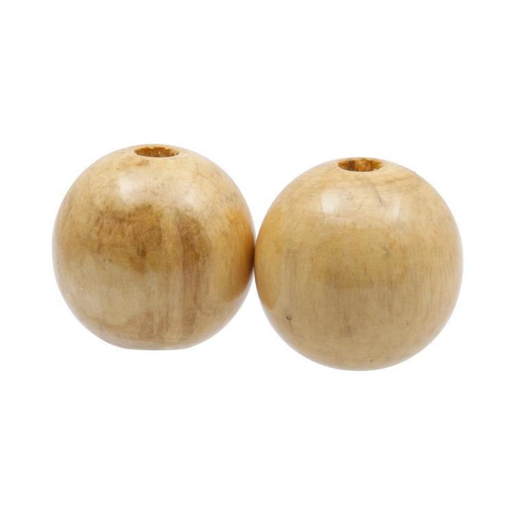 Arbee Round Wood Beads
