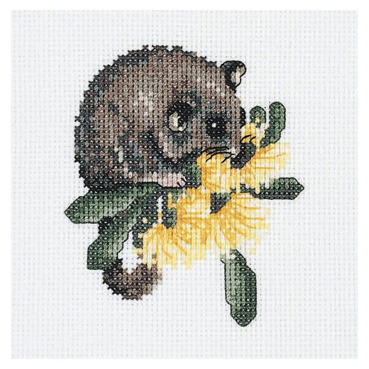 Dmc By Leuts Australia Baby Possum Cross Stitch