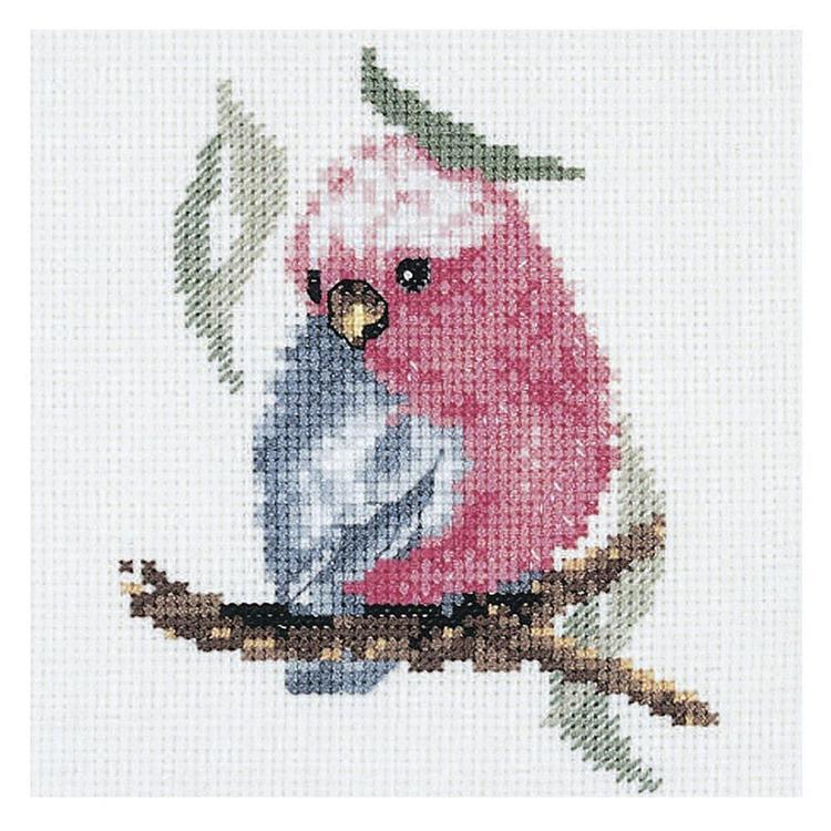 DMC By Leuts Australia Baby Galah Cross Stitch
