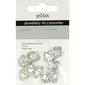 Ribtex Jewellery Accessories Bali Heart Charms 10 Pack Silver Medium