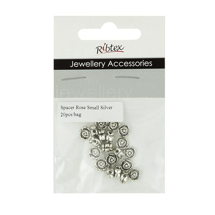 Ribtex Jewellery Accessories Bali Rose Spacers
