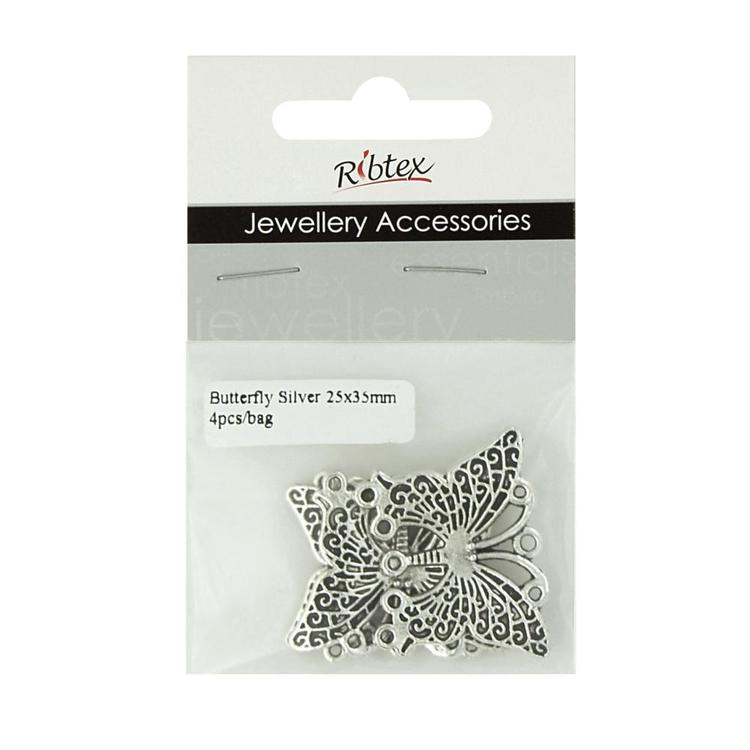 Ribtex Jewellery Accessories Butterfly