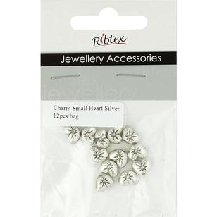 Ribtex Jewellery Accessories Bali Heart Charms 12 Pack