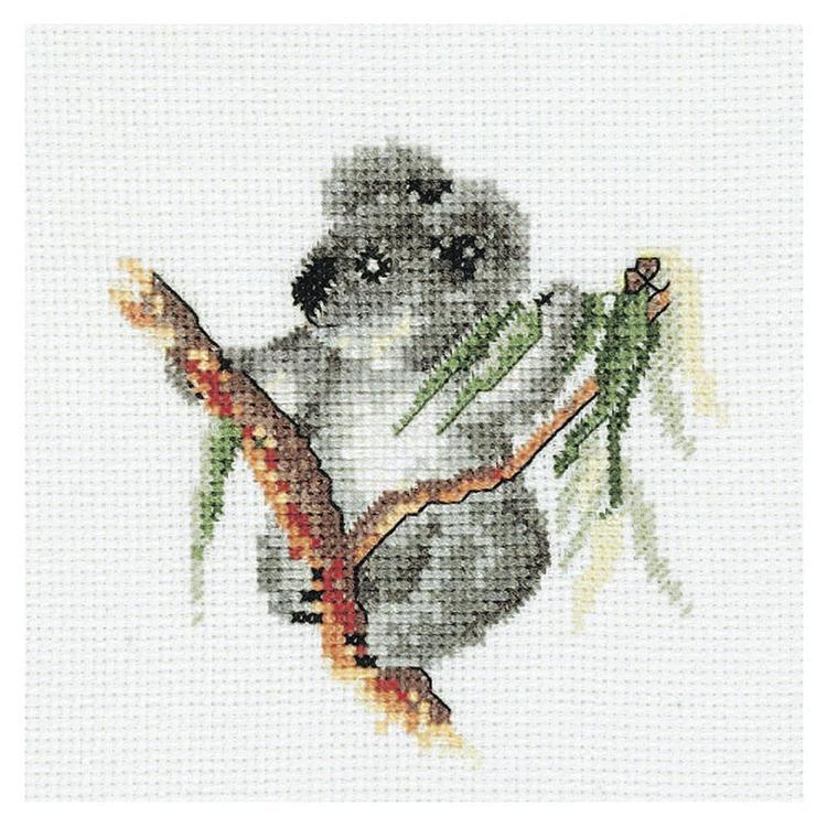 DMC By Leuts Australia Baby Koala Cross Stitch