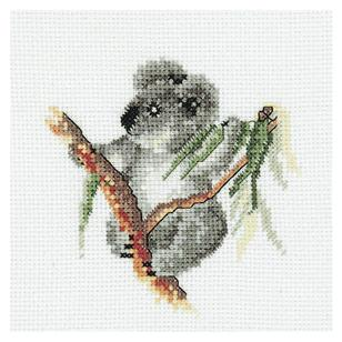 DMC By Leuts Australia Baby Koala Cross Stitch