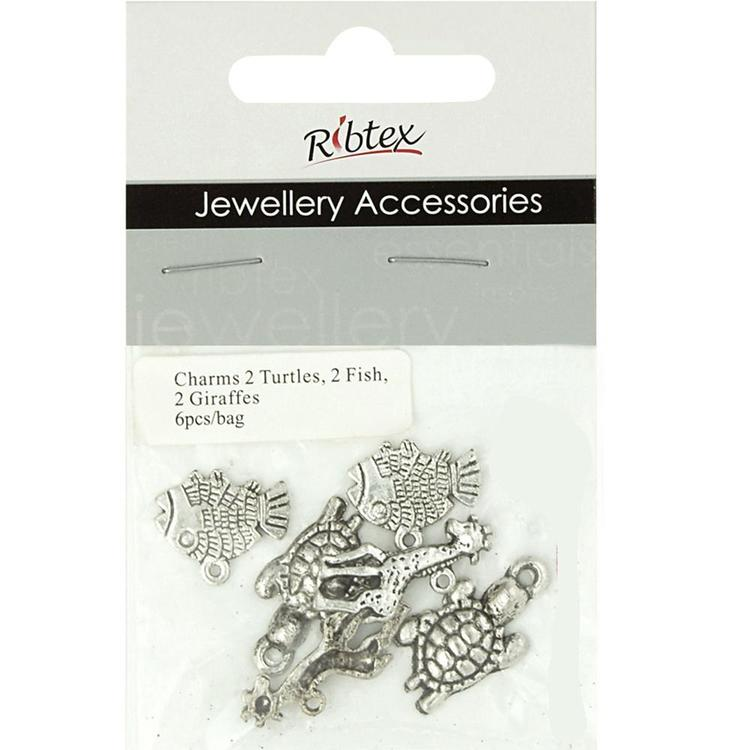 Ribtex Jewellery Accessories Turtles, Fish & Giraffes
