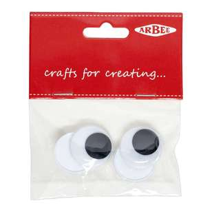 Arbee Sew On Joggle Eyes 4 Pack